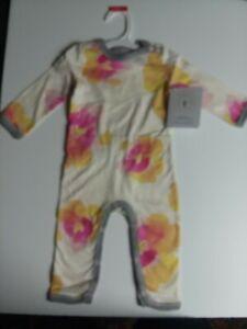Burt-039-s-Bees-Baby-Girls-size-3-6-Months-NWT