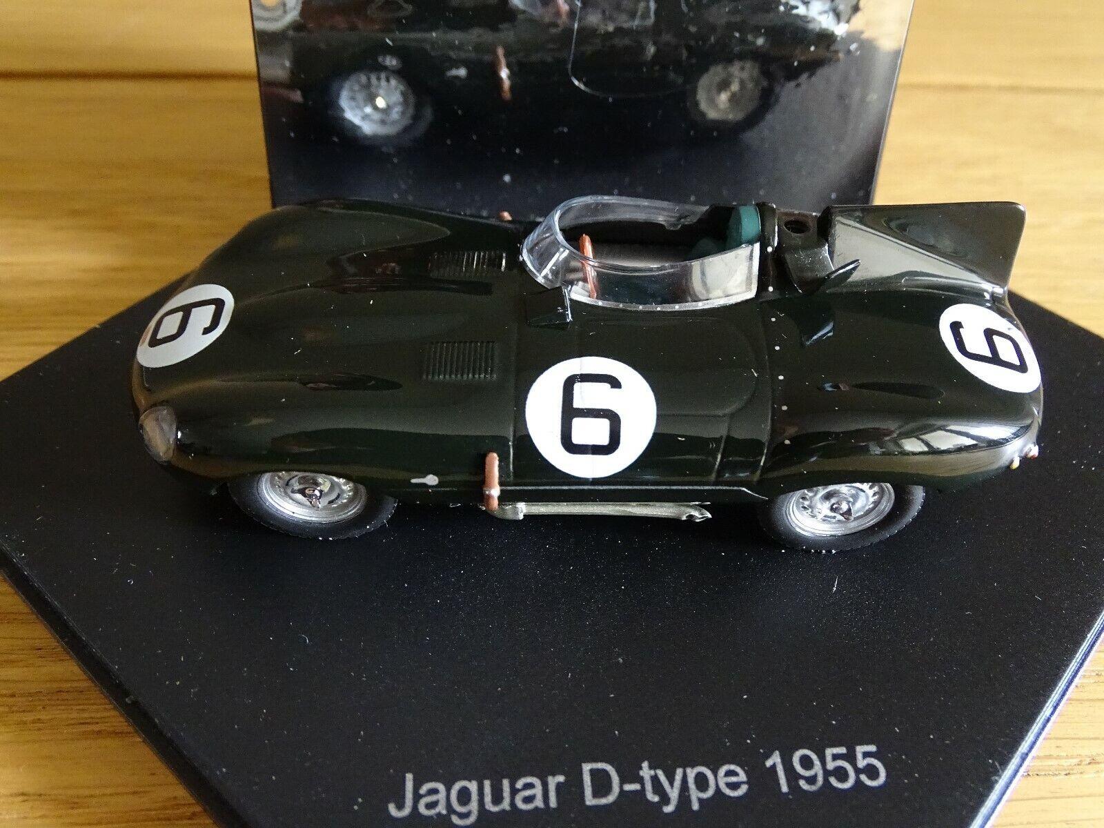 1 43 vitesse 1955 Jaguar D-Type nero