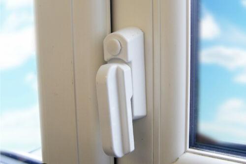 5Pcs Metal Sash Jammers Kit UPVC Swing Arm Lock Window /& Door Extra Security