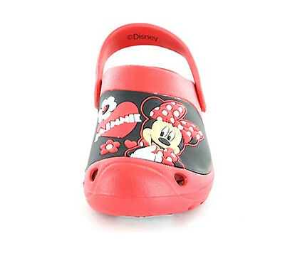 Girls Disney Minnie Mouse Clog Flip Flop Sandal Clogg Toddler Children Size 7-12