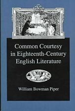 Common Courtesy in Eighteenth-Century English Literature-ExLibrary