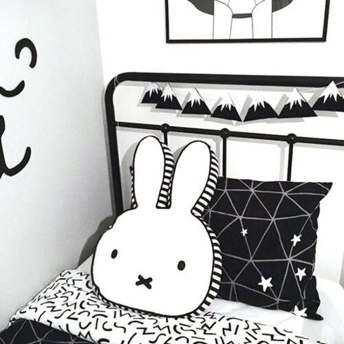 Miffy Cute Rabbit Plush Toys Cushion Animal Bunny Baby Kids Decor Bedroom Pillow