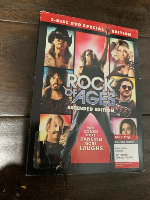 Sealed ROCK OF AGES (DVD 2012) Rare Target Special Edition New / Free Shipping!!