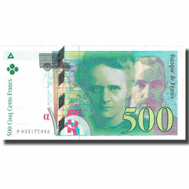[#630634] France, 500 Francs, Pierre et Marie Curie, 1995, UNC(63)