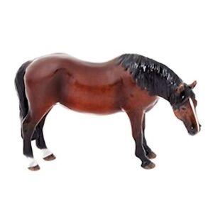 John Beswick Thorough Bred Mare Bay Horse Figurine NEW in Gift Box - 23428