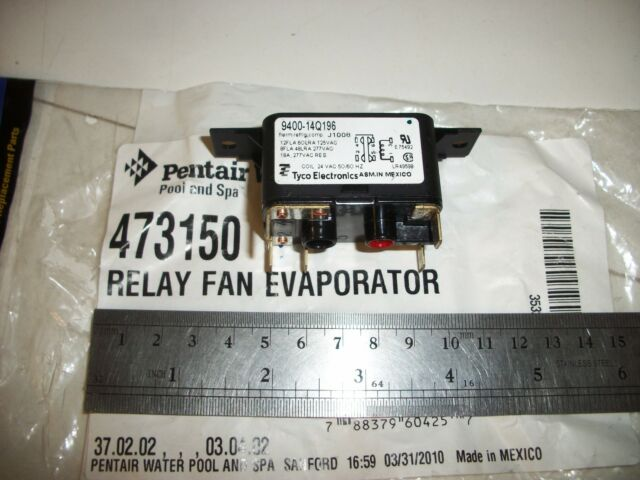 Pentair 473150 Evaporator Relay Fan Replacement Pool and Spa Heat Pump