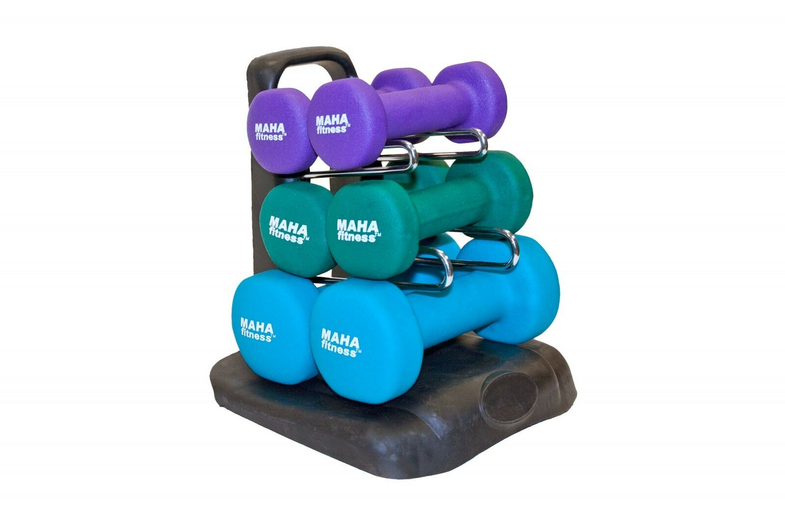 Maha Fitness Dumbbell Set With  Stand - 20 lbs. (MF-PV20)  a lot of surprises