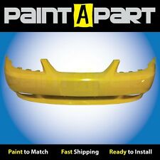 2002 2003 2004 Ford Mustang GTFront Bumper Painted BZ Chrome Yellow
