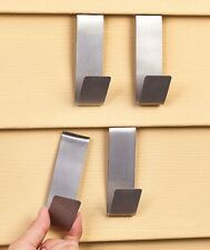 Set Of 4 Vinyl Siding Clips Hooks Hangers Holiday Decorations Lights Outdoor
