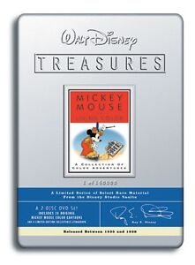 Walt-Disney-Treasures-DVD-Mickey-Mouse-in-Living-Color-Sealed-Collector-039-s-Tin