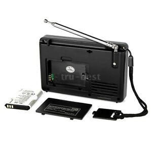 Retekess V-115 FM//AM//SW Radio Multiband Radio Receiver REC Recorder Bass Sound