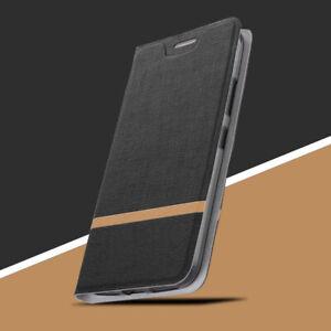 Resistant-aux-Chocs-Slim-Clapet-Cuir-TPU-Etui-pour-Sony-Xperia-XZ3-XZ2-XZ1-XA2