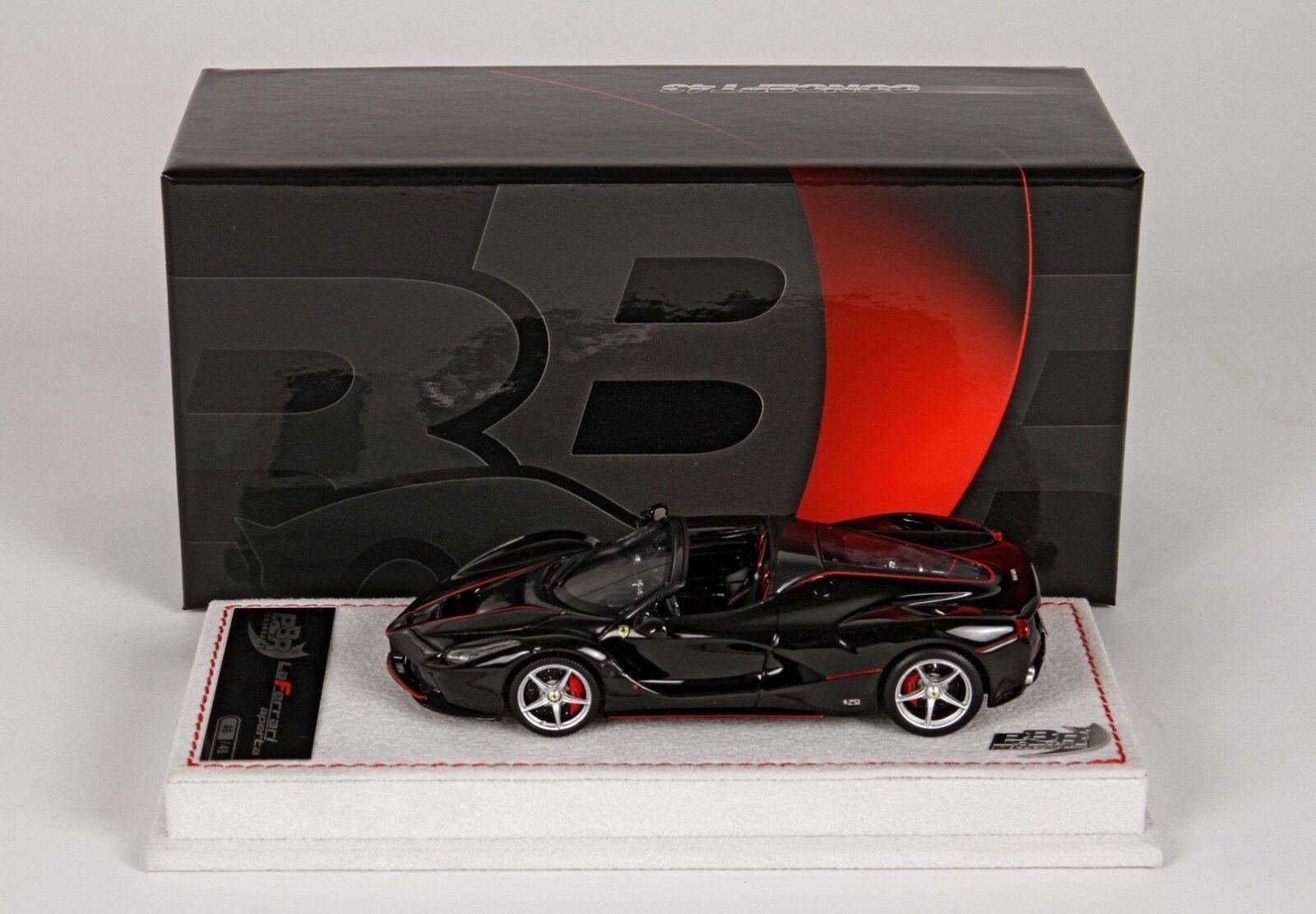 Ferrari LaFerrari  Aperta 2016 noir Daytona  1 43 lim.ed. 48 pcs BBRC187AB BBR