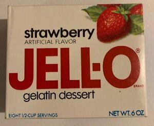 Vintage-1970-s-Jello-Brand-Gelatin-Fruit-Dessert-Full-NOS-Sealed-Unopened-Box