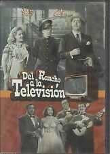 DVD - Del Rancho A La Television NEW Fernando Solar Luis Aguilar FAST SHIPPING !