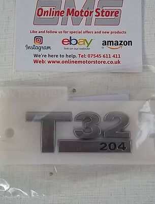 Volkswagen Transporter T5 T6-T32 180ps badge-Brand new-genuine VW part