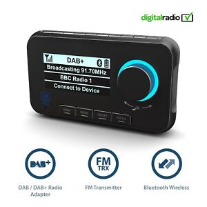 Majority-In-Car-DAB-DAB-Digital-Radio-Adaptor-Bluetooth-Handsfree-Calling
