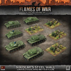 Flames of War SUAB09 'Nikolay's Steel Wall' Army Deal NEW