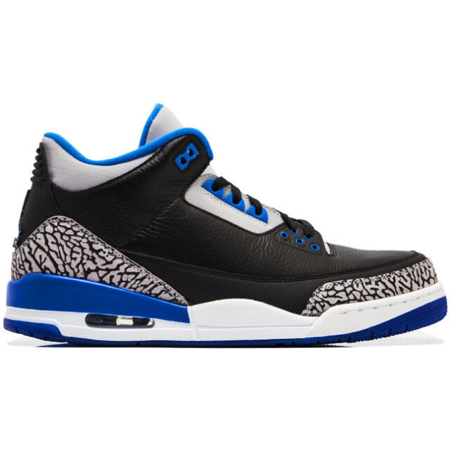 Size 11 - Jordan 3 Retro sport blue 2014