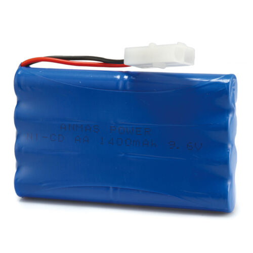 Anmas Power Rechargeable Battery1400mAh 9.6V NiCd Batteries For RC Hobby