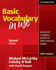 Vocabulary in Use Basic Student's Book with Answers by Felicity O'Dell, Michael J. McCarthy (Paperback, 2010)