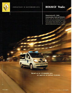 Publicité Advertising 088   2002   Renault  le Trafic  dci utilitaire