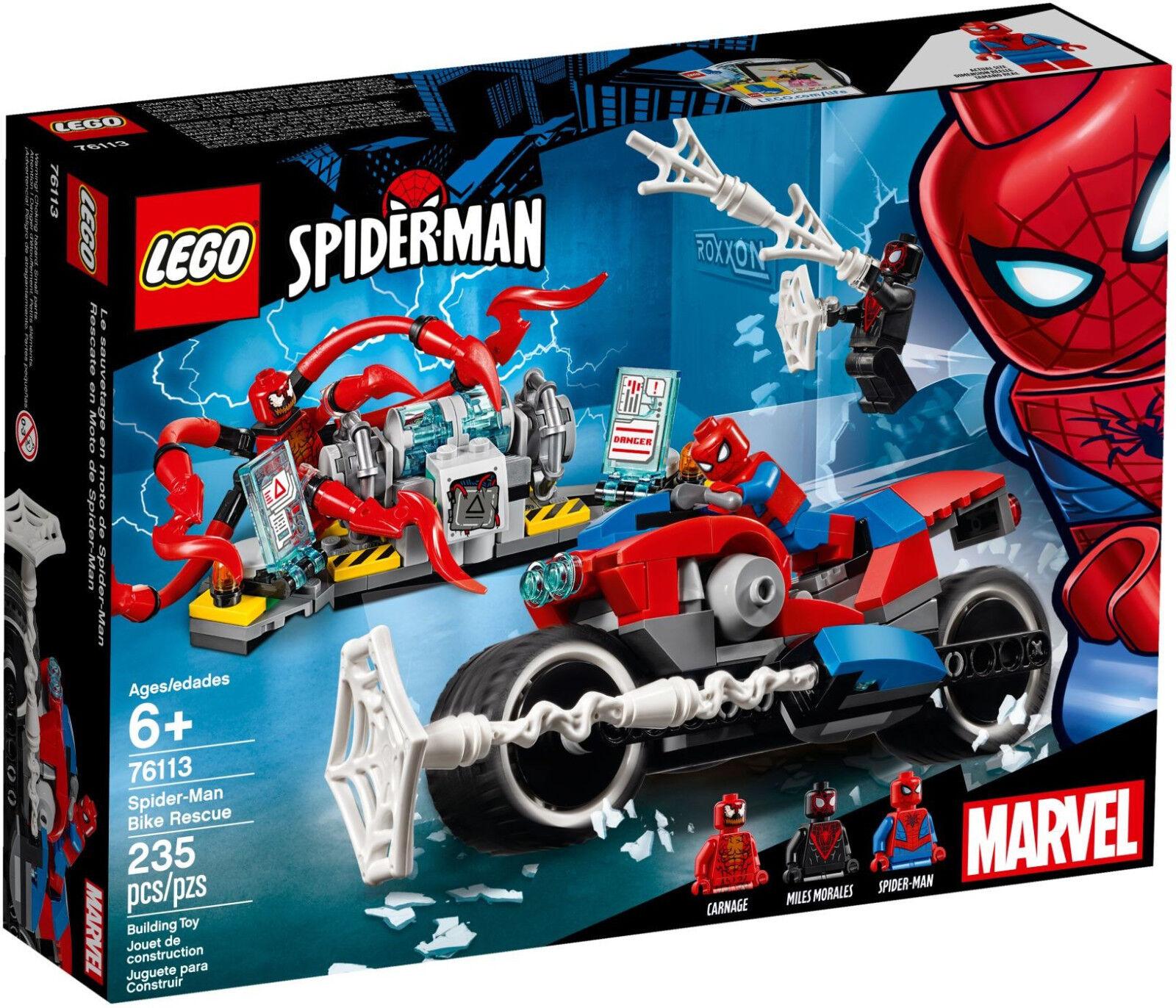 LEGO Marvel Superheroes - 76113 Spider-Man Spider-Man Spider-Man Motorradrettung - Neu & OVP f7ec83