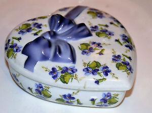 Ancien Bonbonniere Boite En Porcelaine Barbotine De Baviere Royal K.p.m. Berlin Nagntpn3-08002630-823488752
