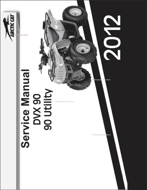 Printed Arctic Cat 90 Utility    Dvx 90 2012 New Service