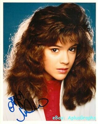 Alyssa Milano Who S The Boss Samantha Micelli Signed Ebay