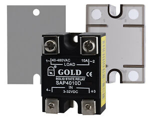 Electronic-Solid-State-Relay-SSR-semiconductor-relay-Single-Phase-10a-25a-40a