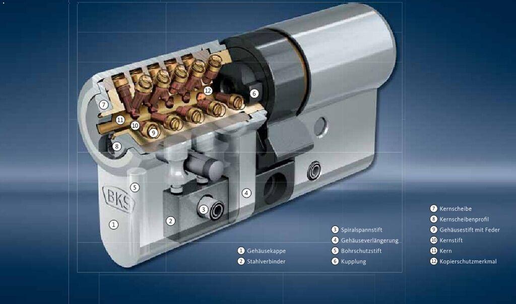Schließzylinder BKS Janus Janus Janus 46 mit 6 Schlüsseln Profilzylinder Zylinderschloß    Ausgezeichnetes Handwerk    Outlet Store    Günstige Bestellung    Meistverkaufte weltweit  a5522f