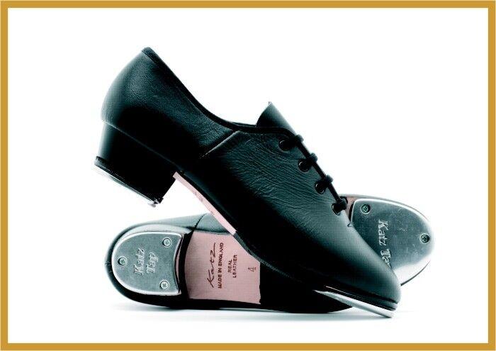 Katz Dancewear Jazz Tap Stepptanzschuh Tanzen Tanzen Tanzen Tanzschuh, schwarz Gr. 35-42 877929