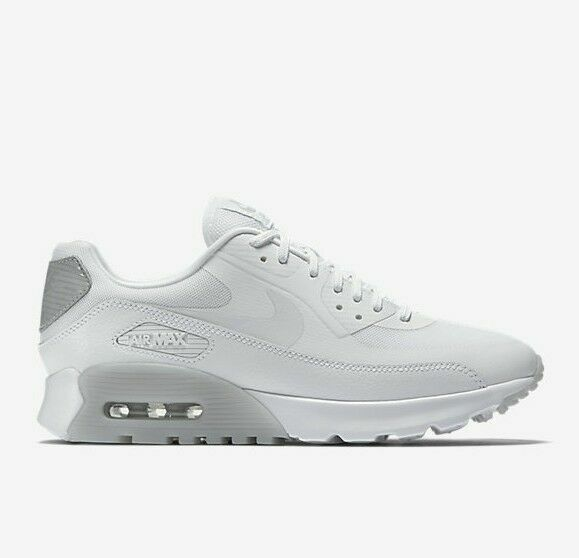 Size 12 - Nike Air Max 90 Ultra Essential White Wolf Grey for sale ...
