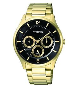 CITIZEN-AG8353-81E-Mens-Watch-WR50m-gold-NEW-in-Box-RRP-250-00