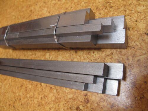 Bright Mild Steel Flat Bar L=100 to 1600 mm 6x6 to 50x20 mm