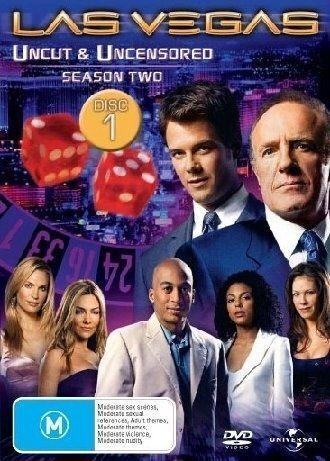 1 of 1 - Las Vegas: Uncut & Uncensored Season 2  (DVD, 2005)