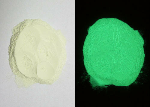 GLOW in the DARK GREEN POWDER PIGMENT