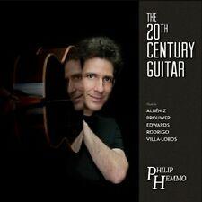 The 20th Century Guitar (CD, Project Aurora) - Philip Hemmo, guitar