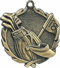 "PUD 1 3/4"" Golf Neck Medal 32060, Free engraving"
