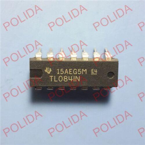 10PCS IC TI//ST DIP-14 TL084IN