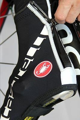 Castelli Diluvio All-Road Cycling Waterproof Shoe Covers 4513534-010 - Black