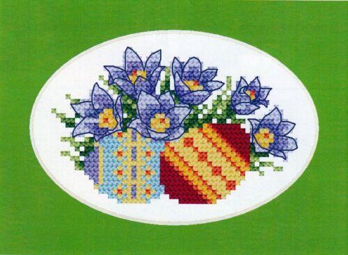 Ostern KÜCHENSCHELLE 11x7 cm Osterkarte Grußkarte ca KOMPLETTPACKUNG