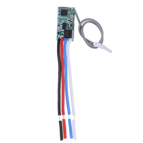 433Mhz 1CH RF Relay Receiver Wireless Remote Control Light Switch Micro Mod HGY