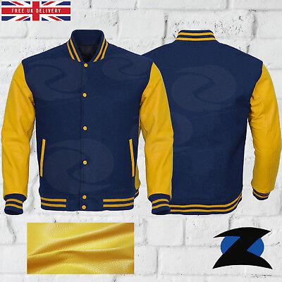 Da Uomo Bomber Leggero Cappotto Giacca di qualità superiore Taglie S M L XL