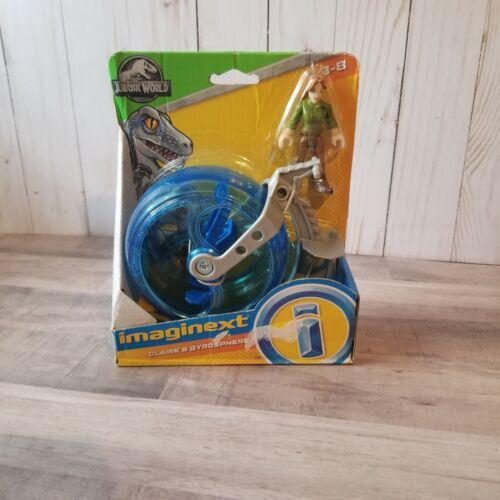 Imaginext-Jurassic World-Claire /& gyrosphere-Set