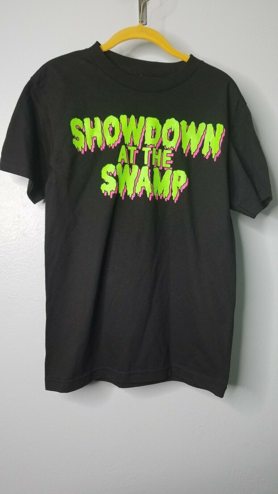 wwe southpaw regional wrestling malibu al s car emporium trucker hat for sale online ebay mens s wwe showdown at the swamp t shirt southpaw regional wrestling