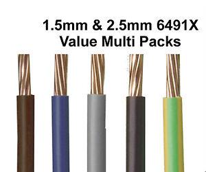 6491X-1-5mm-2-5mm-4mm-Single-Core-Conduit-Cable-Wire-CHOOSE-COLOUR-LENGTH
