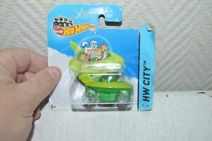 VOITURE-VEHICULE-THE-JETSONS-CAPSULE-CAR-HOT-WHEELS-NEUF-CAR-FIGURINE