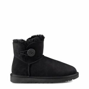 fd24f0434f7 UGG Australia Women's Mini Bailey Button II Black 1016422 W / BLK 7